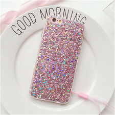 Fashion Full Bling Glitter Soft Phone Cover Case for iPhone X 5 6 7 8 Plus
