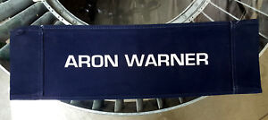 Ghost In The Machine ('93) Canvas Seat Back Made for Aron Warner - Line Producer