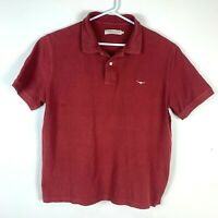RM Williams Burgundy Polo Shirt Size Men's 2XL XXL