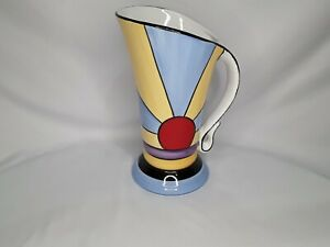 Brian Wood Ceramic 'New York' Art Deco Style Jug.