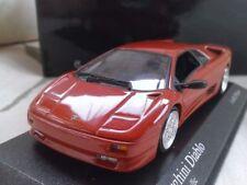 Voitures, camions et fourgons miniatures rouge pour Lamborghini 1:43