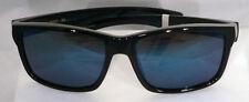 Suncloud Mayor Sunglasses - Black w/ Blue  Polar - Free Hard Case + Free Ship