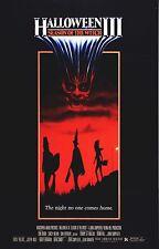 HALLOWEEN III 3 Season of the Witch Movie Poster HorrorSilver Shamrock