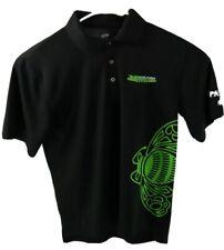 Alexis Dejoria Racing Men's Size Small Patron Tequila Polo Shirt Black