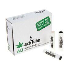 1/3/5/10 x actiTube 8mm Aktivkohlefilter für Pfeifen 40 Stück pro Packung