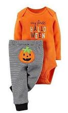 Carters My First Halloween Infant Baby Boy Girl 2pc Bodysuit & Pant Set Newborn