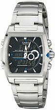Casio Mens EFA120D-1AV Ana-Digi Edifice Thermometer Bracelet Watch