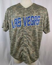 Las Vegas 51s #51 Camo Blue New York Mets Minor League Jersey Size XL SGA