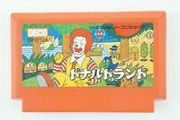 Donald Land NES Deco Nintendo Famicom From Japan