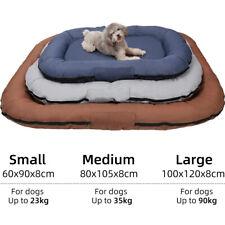 Waterproof Deluxe Pet Dog Cat Bed Soft Puppy Beds Cushion Mattress Pad Mat-UK