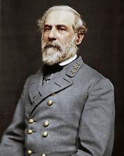 Robert E Lee Confederate Army General Portrait 8x10 Canvas Fine Art Print New