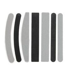 7X Lime Dritte Curve 100/180 Per Ricostruzione Unghie Nail Art W1Q5