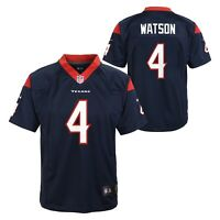 Deshaun Watson Houston Texans NFL Nike Youth Navy Blue  Game Jersey