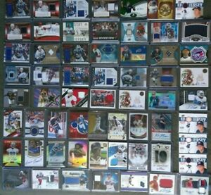 SPORTS CARDS MYSTERY HOT PACK AUTOGRAPH GU PATCH RC # GUARANTEED 3-4 HITS READ