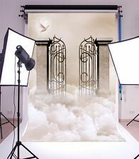 5x7ft Clouds between the magic door Vinyl Photography Backdrop Customized Photo