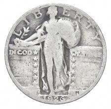 Better 1926-S - US Standing Liberty 90% Silver Quarter Coin Set Break *318