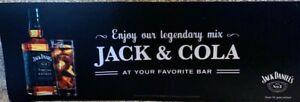 Official Jack Daniels Jack & Cola Bar Runner Brand New