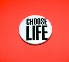 Wham Choose Life George Michael Vintage Style button pin badge