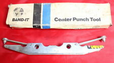 """BAND-IT Center Punch Tool Used With 3/8"""" & 5/8"""" Width new in box"""