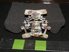 Pre Columbian, Gold/Copper, Choice Fantasy Figure Tumbaga, Pendant, 700 1550 AD