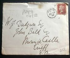 1879 Dublin Ireland Great Britain Vintage Cover t 00004000 o Crieff Scotland