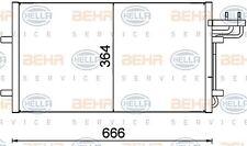 8FC 351 301-734 HELLA Condenser  air conditioning