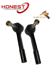 For Vauxhall Signum Vectra C Saab 9-3 Front Outer Track Rod Ends Pair x2 L&R