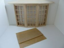 Dolls House miniatura 1:12 SCALA house building 45 riquadro bovindo