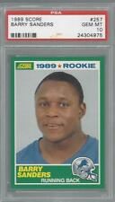 1989 Score Barry Sanders HOF PSA 10 RC