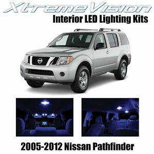 XtremeVision Interior LED for Nissan Pathfinder 2005-2012 (10 PCS) Blue