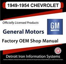 1949 1950 1951 1952 1954 Chevrolet Truck And Car Shop Manuals Amp Parts Books Cd