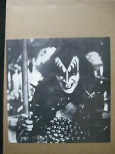 GENE SIMMONS KISS GROUP ROCK VINTAGE POSTER GARAGE 1970's CNG2029