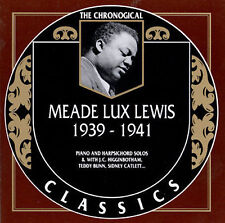 """1939-1941 by Meade """"Lux"""" Lewis-CLASSICS CD NEW"""