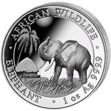 2017 1oz Somalian Silver Elephant