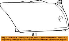 Dodge CHRYSLER OEM 07-12 Caliber-Headlight Head Light Headlamp 5303739AJ