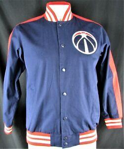Washington Wizards NBA Men's G-III Snap Up Varsity Jacket
