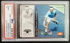 2003 Netpro Elite Star #3 Roger Federer Rookie Card RC /500 PSA 9 Mint GOAT!
