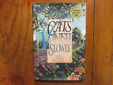 "LAURA  SEELEY  Signed Book (""CATS  VANISH  SLOWLY""-1995  First Edition Hardback)"