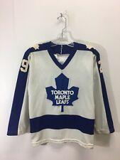 Vintage Toronto Maple Leafs Hockey Mike Palmateer Jersey NHL Boys Size Medium