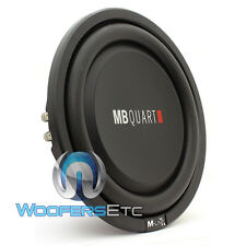"MB QUART MS1-304 12"" SUB 600W DUAL 4-OHM CAR SHALLOW SUBWOOFER BASS SPEAKER NEW"