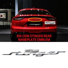 OEM Parts 86311J5000 Trunk Rear Emblem Nameplate Badge for KIA Stinger 2017-2019