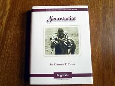 Secretariat Thoroughbred Legends Book Timothy Capps NEW