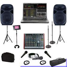 CLUB WEDDING HOME DJ COMPUTER LAPTOP AND KARAOKE SYSTEM 1TB Hard Drive KJ BASIC