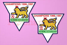 England Premier League Champion 96-97 Sleeve Gold Patch / Badge ManUnited Jersey