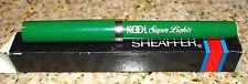 Vintage KOOL Super Lights Cigarettes Sheaffer No Nonsense Ballpoint Pen Box