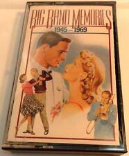 BIG BAND MERORIES 1945-1969 Tape Cassette #2 BMG Music USA 1991 Reader's Digest