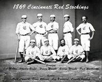 1869 Cincinnati Red Stockings Photo 8X10 - Buy Any 2 Get 1 Free