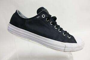 CONVERSE All-Star Black Sz 13 Men Textile Low Skate Sneakers