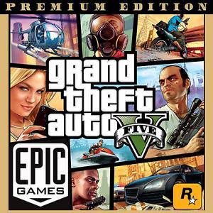 GTA V 5 PREMIUM EDITION [PC] (EPIC GAMES) [Grand Theft Auto 5] Fast Delivery 🚚