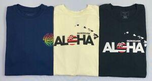 Men's Quiksilver Premium Fit Cotton Aloha Maui Hawaii T-Shirt